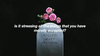 matt maeson - me and my friends are lonely // lyrics