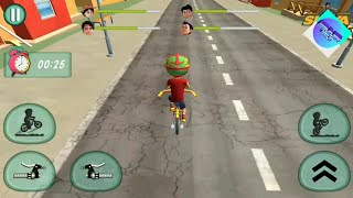 Shiva bicycle racing - Shiva games vedas city road