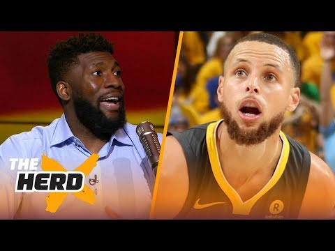 Festus Ezeli on Steph Curry's greatness, LeBron chasing Michael Jordan's 6 titles | NBA | THE HERD