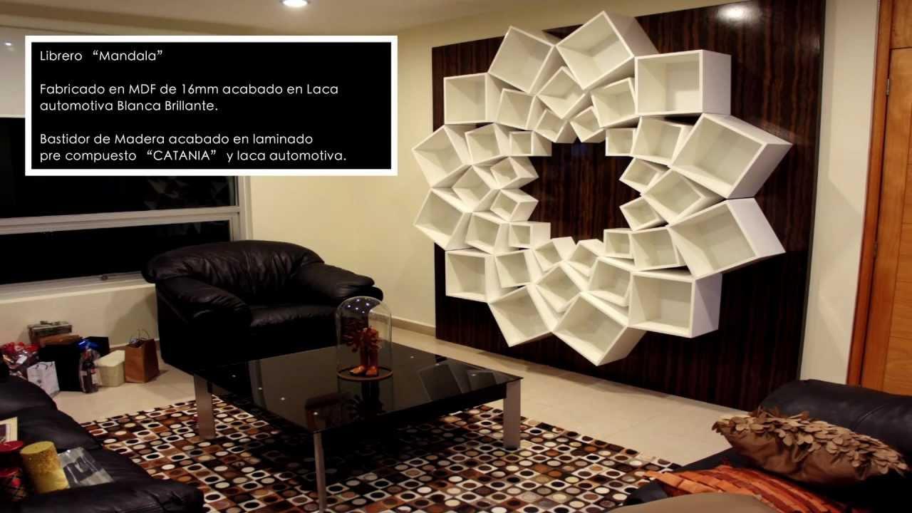Kano y compa ia librero mandala youtube - Libreros de madera modernos ...