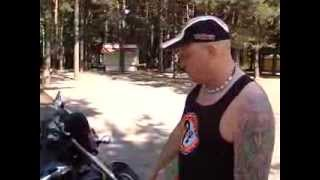 Автошкола. Учимся езде на мотоцикле.