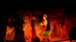 The siva parvathi dance by Aparna j nair and Aswanth suresh