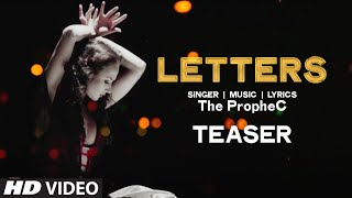 LETTERS Video Song (Teaser) | The PropheC | Releasing Soon | T-Series
