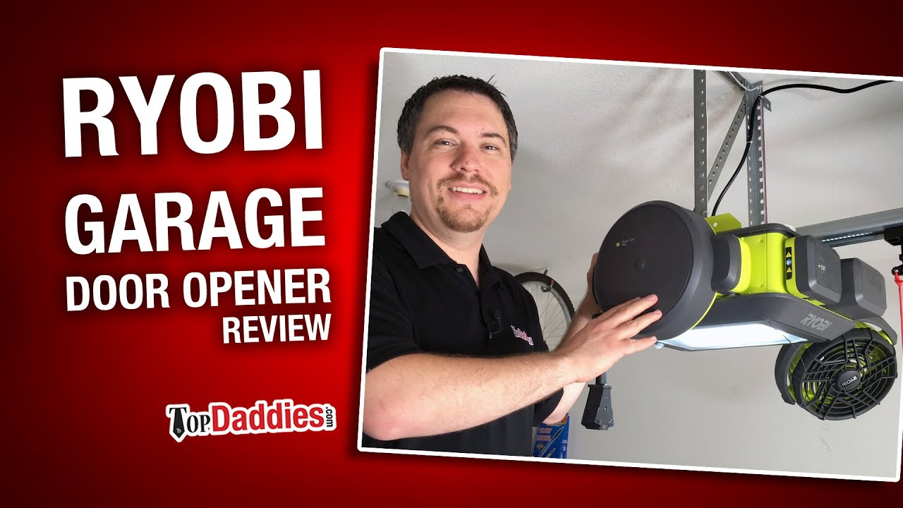 Ryobi Ultra Quiet Garage Door Opener Review Gd200 Youtube