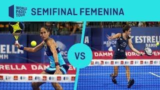 Resumen Semifinal Femenina Mapi/Majo Vs Josemaria/Nogueira Estrella Damm Menorca Open | WPT