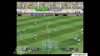 Winning Eleven 6: Final Evolution GameCube Gameplay -