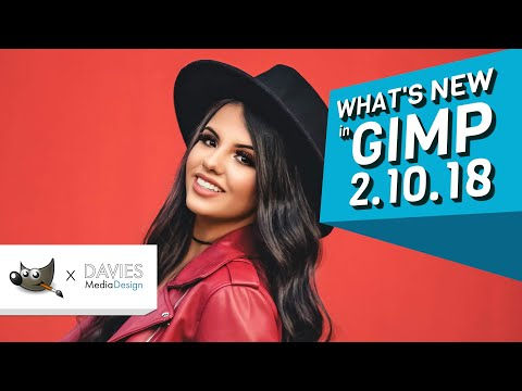 Whats New in GIMP 2.10.18