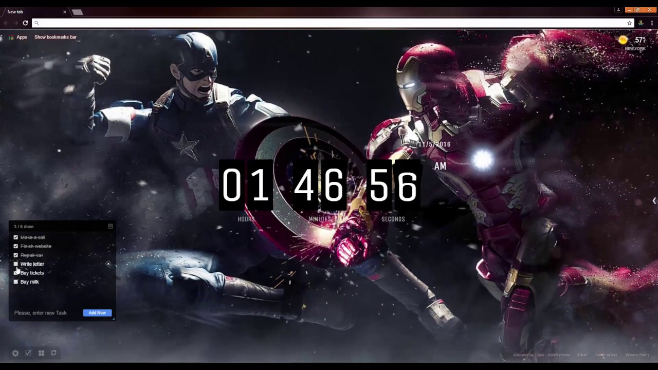 Captain America Vs Iron Man Live Wallpaper