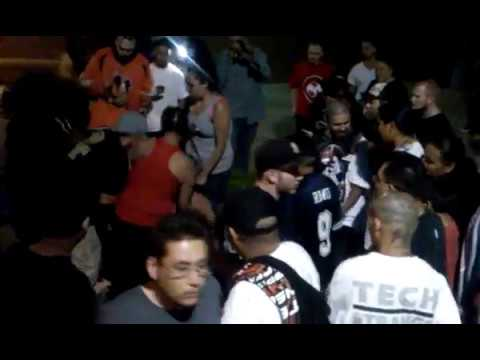 Albuquerque N.M. Fight After Tech N9ne show