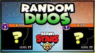 Random Brawlers in DUO SHOWDOWN | Lex and Kairos | Let's play Brawl Stars Epi. 13