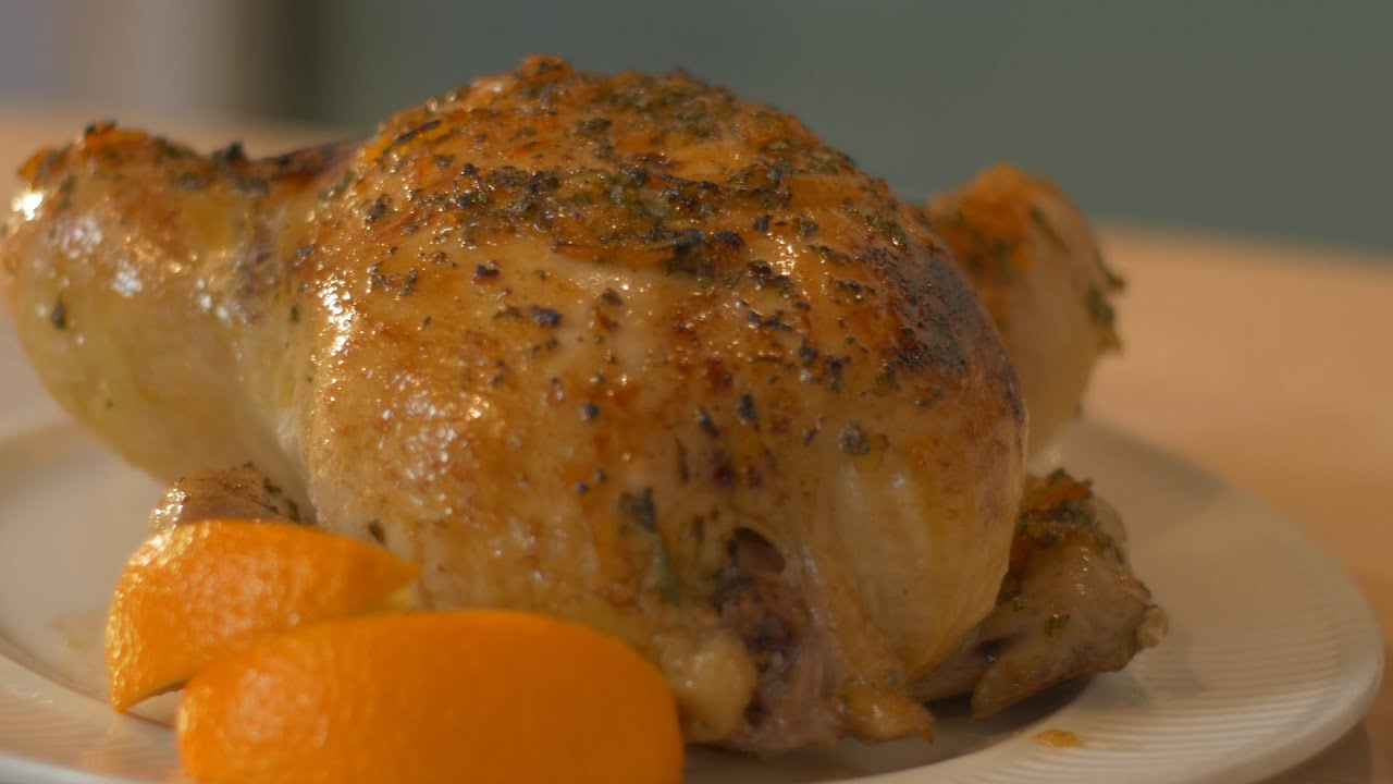 How to Make Citrus Roast Chicken | Julie Nolke