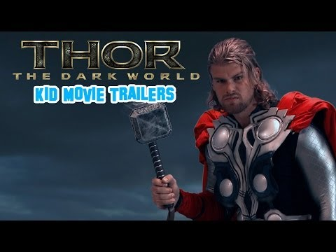 Kid Snippets Movie Trailers:  Thor