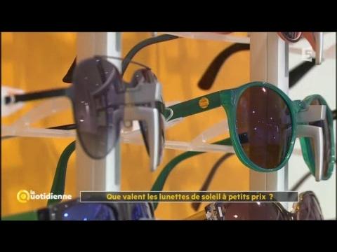 09016d3fa1 Que valent les lunettes de soleil à petits prix ? - La Quotidienne ...