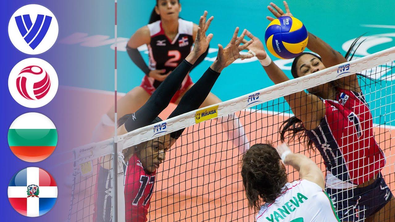 Bulgaria vs. Dominican Republic - Full Match | Women's Volleyball World Grand Prix 2016