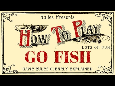 How To Play Go Fish (Card Game For Kids)