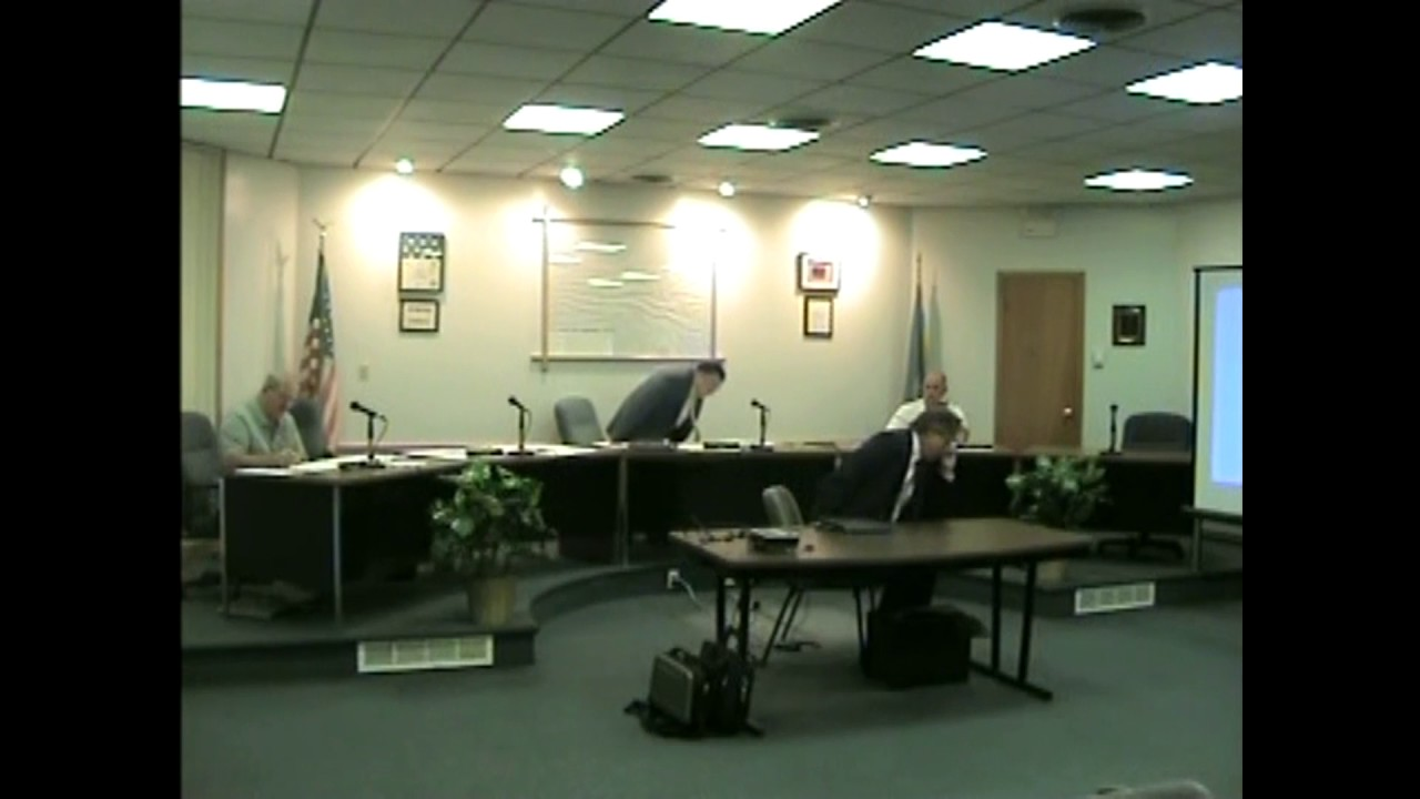 Rouses Point Village Board Meeting  8-3-09