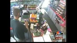 Armed Robber Gets owned by Marine