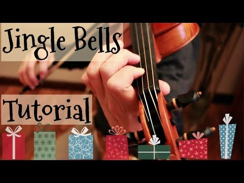 Jingle Bells ~ Dashing Through the Snow -- Fiddle Tutorial!