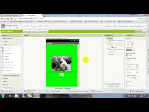 Video Membuat Aplikasi Android Sederhana Menggunakan App Inventor 2