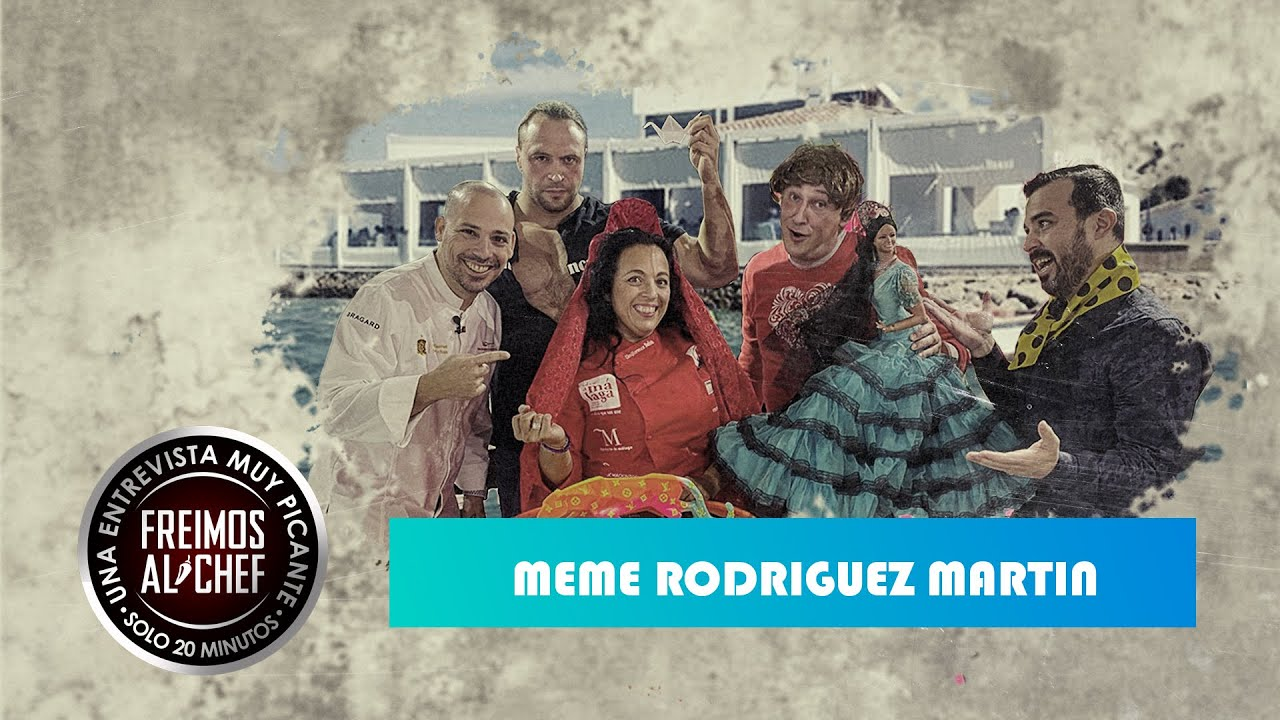 Freimos Al Chef - Entrevista con Meme Rodríguez Martin. Restaurante Casa del Farero.