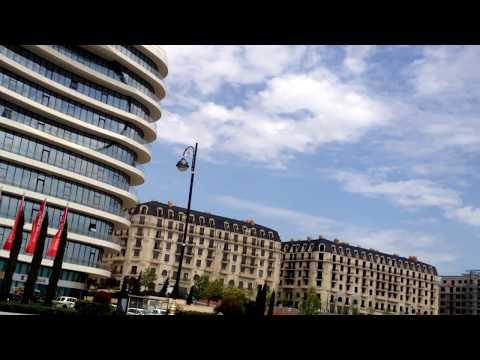 travel to city of Baku Azerbaijan  may 2017 Bakı. Ağ Şəhər.