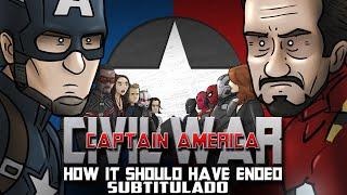 How Captain America Civil War Should Have Ended Subtitulado Español Latino
