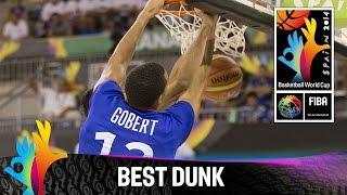 Serbia v France - Best Dunk - 2014 FIBA Basketball World Cup