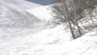 2010.5.17 日本の春・夏スキーのメッカ月山スキー場は、全国各地から多...