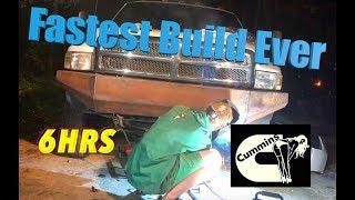 Cummins Custom Bumper (Quick Build)