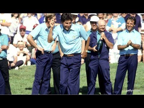 José María Olazábal  l 1987: his first Ryder Cup