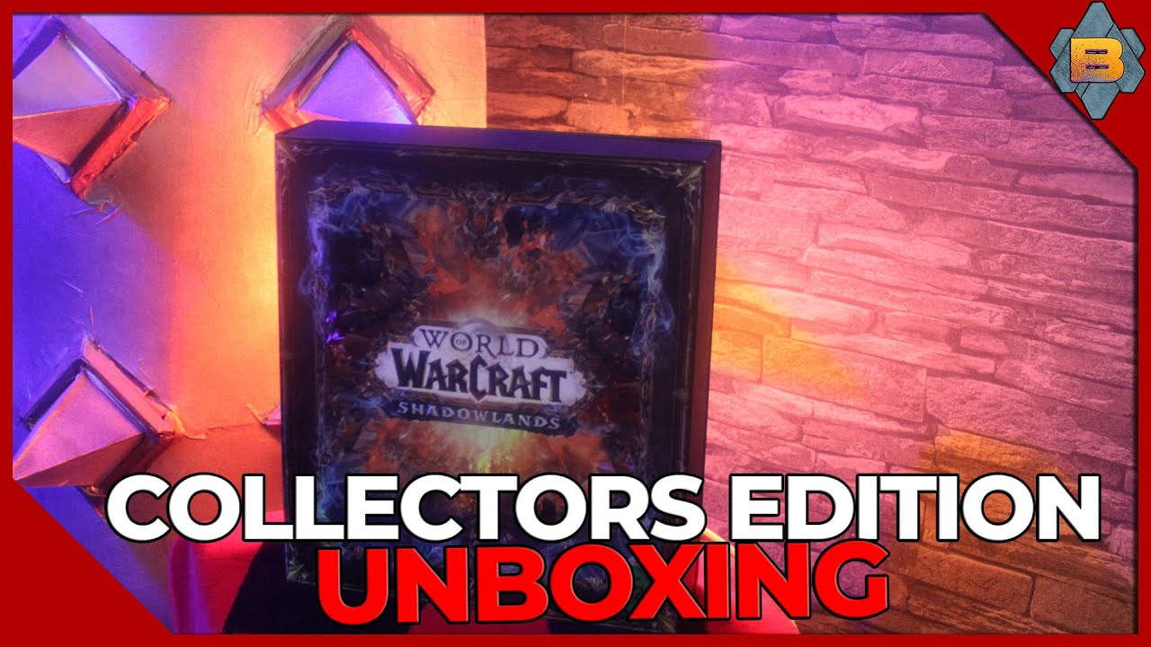WoW Shadowlands Collectors Edition Unboxing