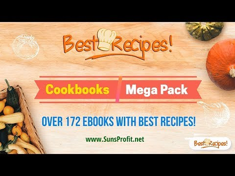 Download Over 172 EBooks With Cookbooks Best Recipes (www.SunsProfit.net)