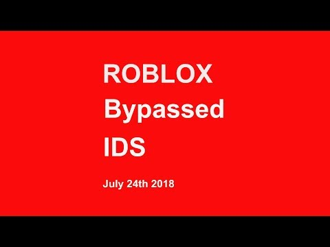 Roblox Bypass Audios July 2018 (READ DESC.)