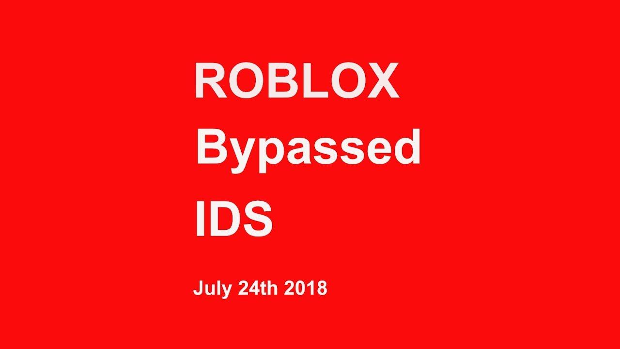 Roblox Bypass Audios July 2018 (READ DESC )