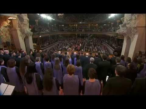 Cant de la Senyera Concert de Sant Esteve - Orfeó Català - 2014