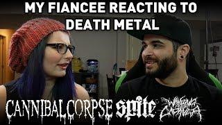 Video Death Metal Music Videos - My Fiancée's Reaction! | Andrew Baena download MP3, 3GP, MP4, WEBM, AVI, FLV Agustus 2018