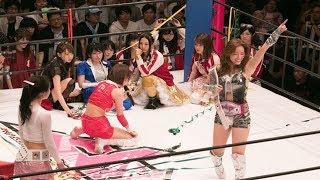 AKB48グループのメンバーによるプロレスイベント「豆腐プロレス T...