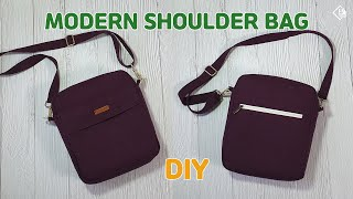 DIY MODERN SHOULDER BAG/ Recta…