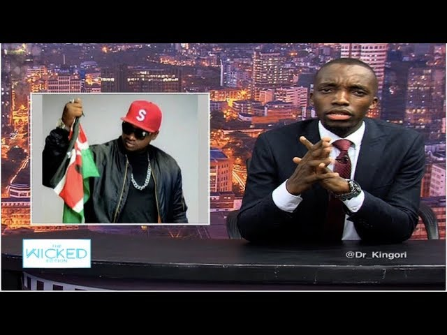 Details of Khaligraph Jones' arrest over an ipod -  The Wicked Edition Episode 127