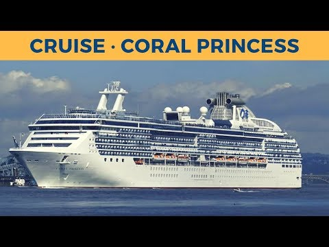 Departure of cruise ship CORAL PRINCESS in Vancouver (Princess Cruises)