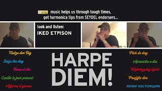 Harpe Diem! How to play the Blues Scale in E on the Chromatic by Iked Etpison (Micki&Iked) - SEYDEL