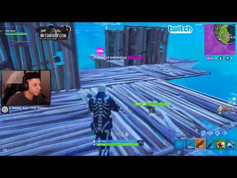 INSANE BUILD FIGHT AGAINST TSM MYTH!