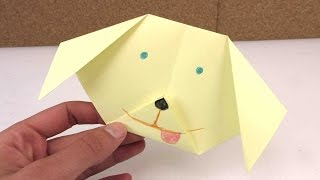 Download Video Origami Hund leicht selber machen - ganz einfach einen Hund aus Papier falten - Anleitung deutsch MP3 3GP MP4