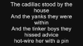 the pogues the body of an american lyrics