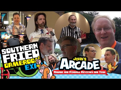 The All Star Southern Fried Gameroom Expo Tour - with Ben Heck, Billy Mitchell, Walter Day and more!