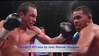 Juan Manuel Marquez vs Juan Diaz 1 - Lightweight fight highlight