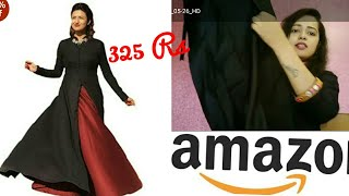 Amazon shopping haul and review || amazon gown review || rs 325
