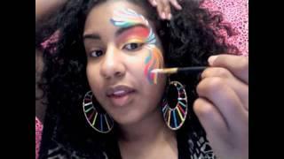 Quick 5 Minute: Carribean Eye Design Fantasy Make up Thumbnail