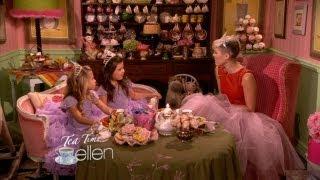It was a special episode of Tea Time when Sophia Grace & Rosie got ...