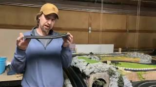 How to bend and manipulate scalextric slot car track to make hills and dips